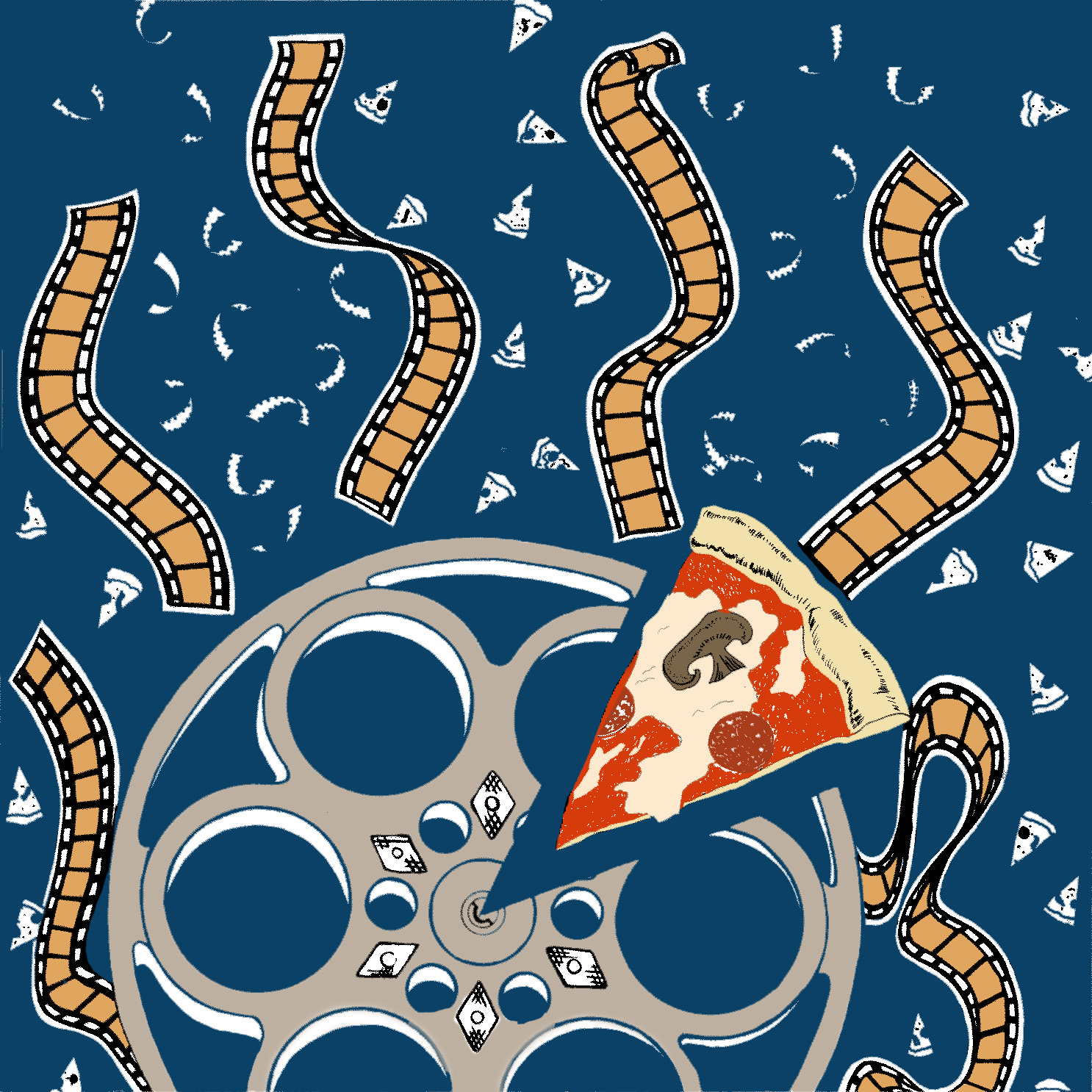 Reel Pizza logo